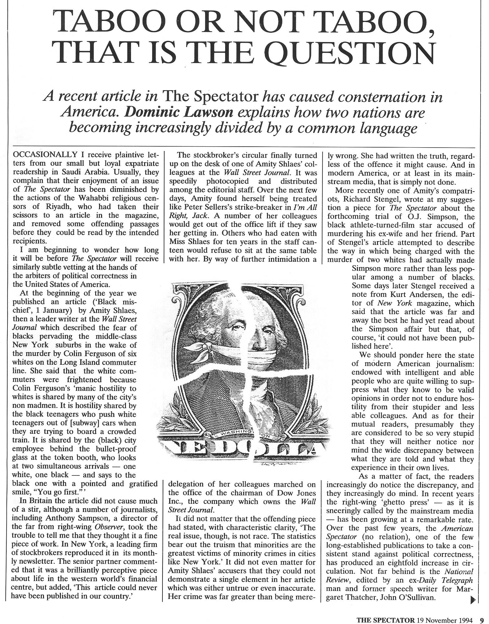article politics correctness